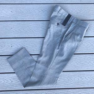 J. Lindberg Paulie Comfort Wool Pant 30 Gray Slim